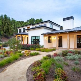 Modern farmhouse custom home in the Santa Rosa Valley by JRP Design and Remodel